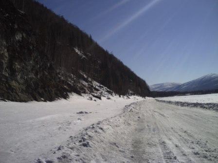 Картинки по запросу дорога по реке в зимний период