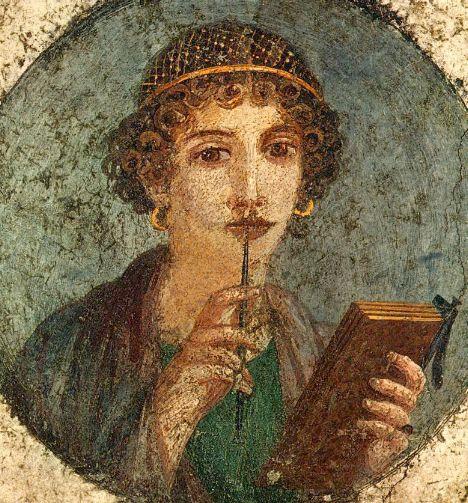 Сафо древнегреческая поэтесса