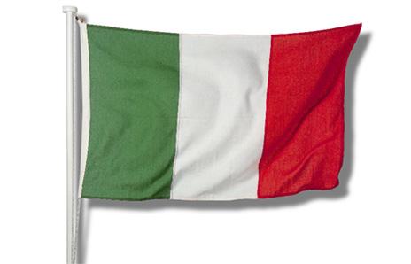 цвета флага италии