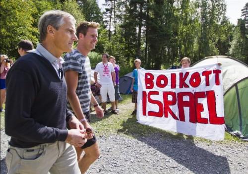 Image result for норвежская рабочая партия против израиля