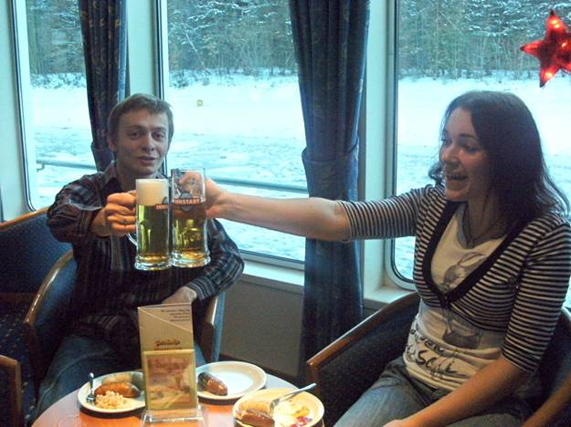 Мороз и солнце. Пиво и сосиски []