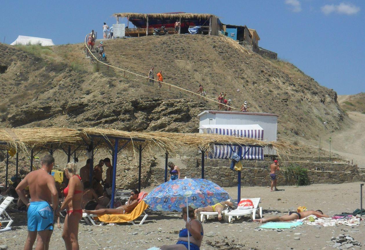 Крым меганом пляж фото