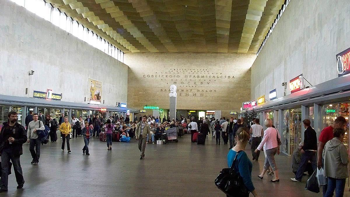 фото курский вокзал внутри