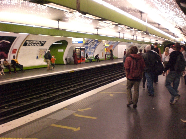 Париж - метро []