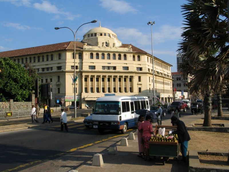 Коломбо - набережная - отель []