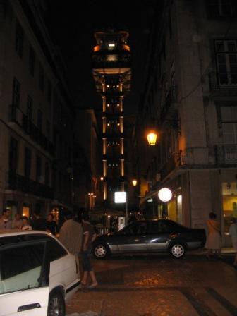 Лиссабон - лифт Санта - Жуста []