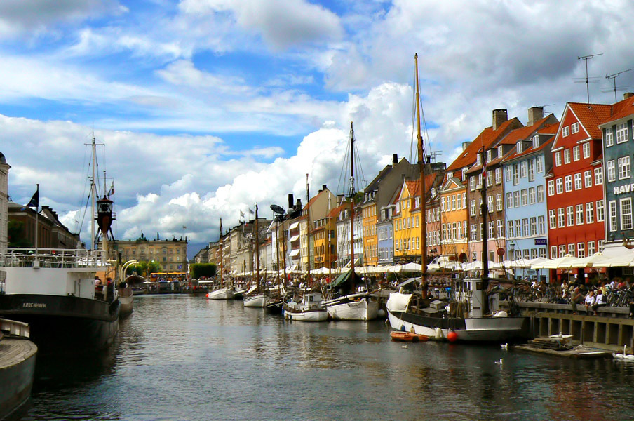 Копенгаген - Ньюхавн днем []