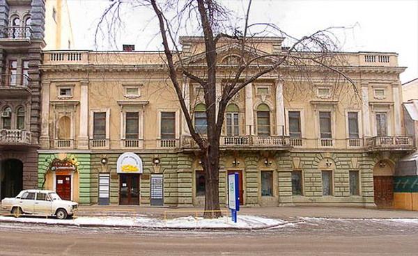 Одесса, театр на Греческой, 50.