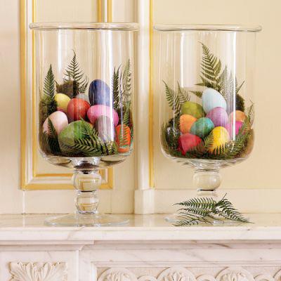 Композиции из пасхальных яиц