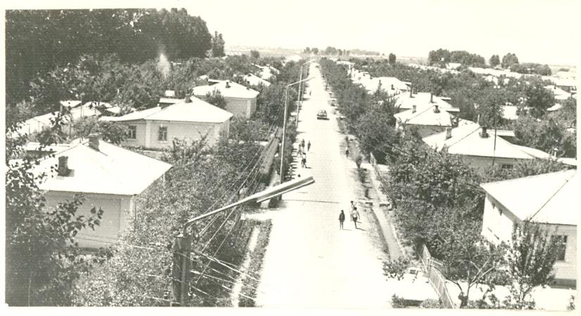 Фото 6. Панорама колхоза ћПолитотделЋ. 1960-е гг. (фото из архива Б.И. Кима).  []